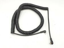 """Vintage PC Sync Extension Flash Coiled Cord Cable - Approx. 36"""" Long"""