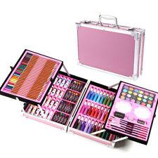 145Pcs Painting Art Box Set Crayon Watercolor Palette Artist Drawing Supplies