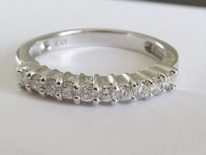 Beau 40 Point Vs / G Bague Diamant En 18K or Blanc