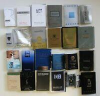 24 Düfte Parfum proben für Adventskalender Herren Männer Nur Markenware!