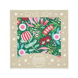 Christmas Card Pack Square - Merry Natives