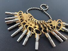 Pocket Watch Key Set of 14 Size 00-12 for Antique Watches
