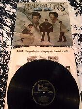 THE TEMPTATIONS - SOLID ROCK LP / UK 1ST PRESS MOTOWN STML 11202 A1 B1