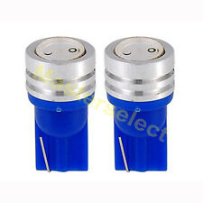 2 x Ampoule T10 1 SMD CREE Led lampe Ultra-Bleu Voiture Scooter  Pas Cher