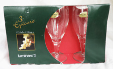 Pack of Three Luminarc Epicure 17.5cl Wine Goblets / Glass / Glasses - BNIB