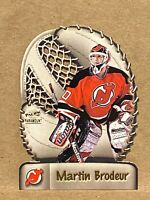 1998-99 Pacific Paramount Glove Side Laser Cuts Martin Brodeur #10