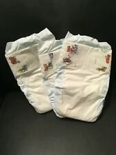VINTAGE 1996 P&G PAMPERS DIAPERS SIZE 2 QTY 3 NEW PLASTIC BACKED