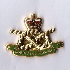 Enamel Lapel Badge SOUTH STAFFS REGIMENT