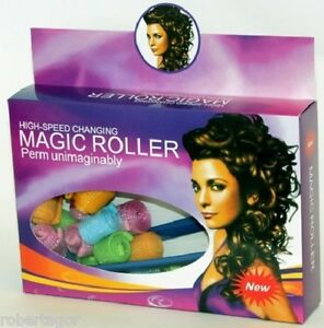 Magic Roller Bigoudis à Boucler Cheveux Ricci Tombantes Parfaits