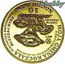 Polonia 2010 coins 10 Kocz. Rydz Loaf Mushroom Pilze Champignons Funghi Grzyb od