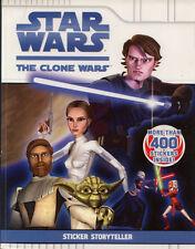 Clone Wars sticker book RARE UNUSED