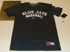 2013 Logo Toronto Blue Jays XL Practice T Tee Shirt Dark Grey MLB Baseball