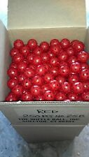 24 WIFFLE® Golf Balls Plastic Practice Poly Golf Balls Red