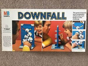 Vintage Retro Downfall Game 1970s Complete Good Condition