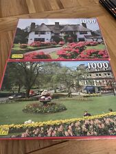 Two Vintage Jigsaw Puzzles 1000 Piece