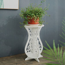 Small Round Modern Side Table Bedside Tea Coffee Lamp Plant Stand Furniture   AU