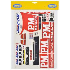 Decal Sheets 1:10 Opel V8 Coupe Alzen 3 PM Magazine Sticker Carson