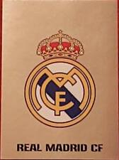 3 Real Madrid badge 2017/2018 Topps UEFA Champions League stickers foil shiny