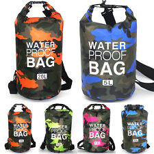 3er Set Seesack Wasserdicht Beutel Dry Bag Packsack 1.5L 2.5L 3.5L Trockentasche