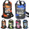 2L/5L/10L/15L Dry Bag Wasserdichte Trockentasche Kayak Kanu Seesäcke Wandern