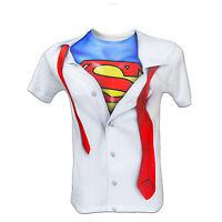 DC Comics Superman Shirt Logo T SHIRT S-2XL Batman Suicide Squad Joker Harley