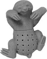 Buntes FAULTIER GRAU Silikon Tee-Ei Sieb Filter Beutel Figur losen Tee Infuser