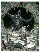 SDCC 2017 Alien Covenant The Hunted Poster Giclee Print Giorgio Comolo COA #/200
