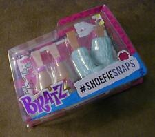 Bratz Pink & White And Aqua #Shoefiesnaps Shoe Set -- REDUCED!!