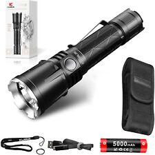 KLARUS XT21X 4000 Lumen CREE XHP70.2 Bright LED Rechargeable Tactical Flashlight