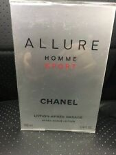 Allure Homme Sport After Shave Lotion By Chanel-3.4oz/100ml-Brand New In Box