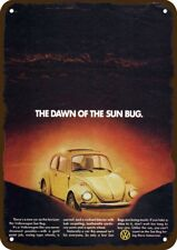 1974 VOLKSWAGEN SUN BUG VW BEETLE w SUNROOF Car Vintage Look Replica Metal Sign