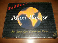 Maxi Bourse Vintage Share Dealing Finance Game Free P+P