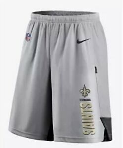 New Orleans Saints Nike Dri Fit Shorts Mens Size 4XL Brand New Fast Shipping