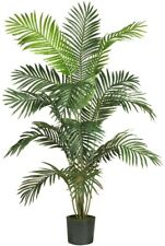 Paradise Palm Silk Tree Artificial Plant Green 6 ft Home Plastic Decorative New
