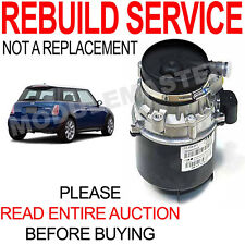 02 03 04 05 06 07 Mini Cooper Power Steering Pump REBUILD REPAIR