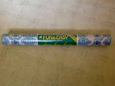 New Vintage Norwall Fun & Easy Vinyl Art WallPaper Abstract Covering Roll *RARE*