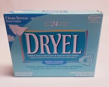 Dryel Refill Cloths New Package of 6  Clean Breeze Scent