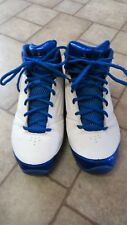 AND 1 Mens Basketball Shoes White Blue Size 9 Very Clean Little ware