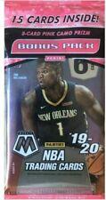 Panini 2019-20 Mosiac NBA Basketball Trading Cards - 15 Cards