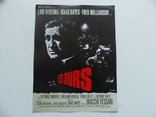 Synopsis Affiche 24X32 Les durs LINO VENTURA  ISDAAC HAYES FRED WILLIAMSON