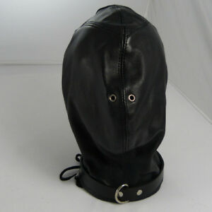 Premium LEATHER total enclosure hood (HL-26-LEATHER), FREE UK DELIVERY