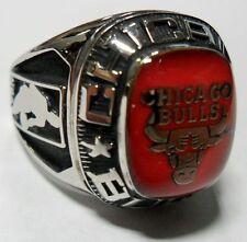 Balfour NBA Chicago Bulls Ring Size 8 White Gold