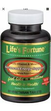 Life's Fortune Multi Vitamin Mineral Natural Energy 60 Tab Free fast shipping