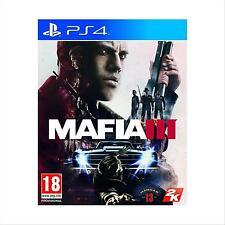 PS4 MAFIA III 3 EU Multilingua Italiano Incluso - USATO