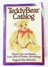 The teddy bear catalog prices, care and repair book vintage 1980