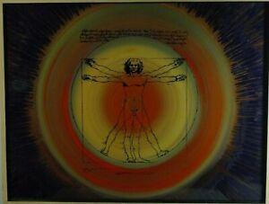 """Eitel Friedrich Kuhnert """"Quadratur des Kreises"""", Acyl, Da Vinci, Damien Hirst"""