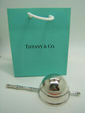 Tiffany and Co Sterling Silver Bamboo Pattern Handle Rollover Turnover Jigger