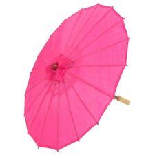 Chinese Oriental Japanese Dance Umbrella Parasol, Red Rose G2I7