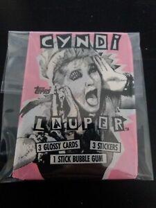 Cyndi Lauper Topps Trading Card Pack