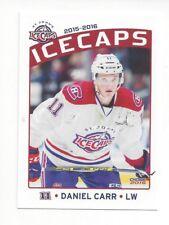 2015-16 St. John's IceCaps (AHL) Daniel Carr (Laval Rocket)